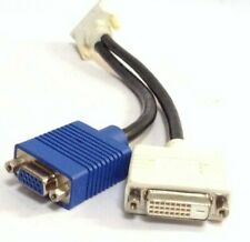 ADAPTER VIDEO CARD ADAPTER BAGGED DVI-l-MALE  to  VGA-FEMALE