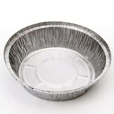 20x No12 Round Aluminium Foil Food Containers     No Lids
