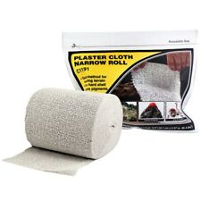 Woodland Scenics C1191 Plaster Cloth Narrow Roll 4in x 5yd Model Material