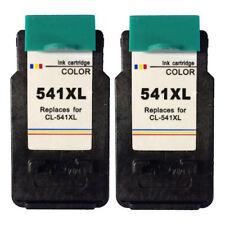 2x CL541XL Colour Ink Cartridges For Canon PIXMA MX455 InkJet Printer
