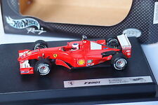 HOT WHEELS F1 FERRARI F2001 BARICHELLO 1/43