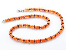 Natürliche Echtschmuck-Halsketten Granate