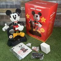 Mickey Mouse Animated Moving Talking Cordless Phone - Disney Telemania - Retro