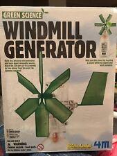 New ListingGreen Science Windmill Generator-Kidz Labs 4M-Kids Educational Science Kit