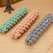 Useful Fun Dog Puppy Pet Cotton Chew Knot Braided Bone Rope Doggie Playing Toy./