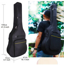"40""/41"" 5mm Acoustic Electric Guitar Padded Gig Travel Bag Soft Case Backpack CA"