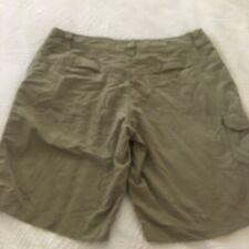 COLUMBIA Womens hiking summer shorts khaki size 10