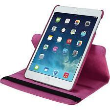 Cubierta de cuero artificial Apple iPad Mini 3 2 1 360° rosa caldo