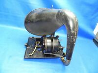 Antique 1908 Edison Disc Phonograph Model C-250 Motor with Horn