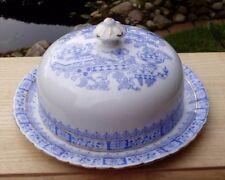 Butterglocke, rund, alt, China Blau vielleicht Tillowitz, Silesia