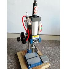Pneumatic press machine small desktop 110V punch machine press 200KG/440LBS