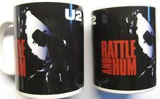 U 2 U2 TASSE KAFFEETASSE RATTLE AND HUM BOXED MUG BECHER