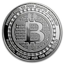 1 oz Silver Proof Round Bitcoin Value Conversion - SKU#157878