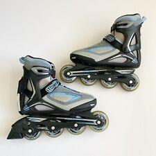 Rollerblade Geo Blade 1.5 Abt Women's Size 6 Blue Gray Inline Skates