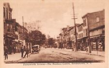 c.1915 Early Cars Stores Farnsworth Ave. Business Centre Bordentown NJ post card