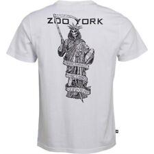 Zoo York Herren  T- Shirt Skull Totenkopf Liberty  Weiß Gr. M