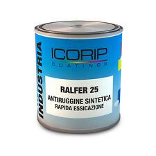 ICORIP 750ML RAPIDO PRIMER METALLO FERRO VERNICE ANTIRUGGINE FONDO ANTICORROSIVO