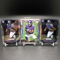 2015 Panini Prizm Stefon Diggs Rookie Base (3 Card Lot) BILLS Rookie Card RC