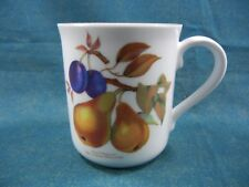 Royal Worcester Evesham Gold Collector Pear & Damson Coffee Mug(s)