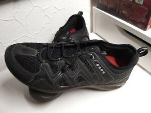 Ecco Terracruise LT Schnürschuh 42 Herren Schuhe Freizeitschuhe Textil  schwarz