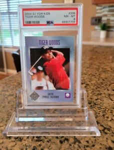 2004 Tiger Woods Sports Illustrated for Kids  PSA 8 NM MINT Invest in the GOAT!