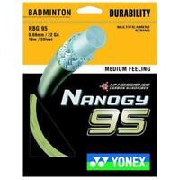 Yonex Nanogy 95 Badminton Racquet String 0.69MM/22 GA - 10m/33feet