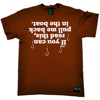 Fishing If You Can Read This Boat angling fish rod reel funny Birthday T-SHIRT