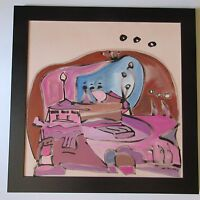 CHRISTOPHER PAUL COBB PAINTING ABSTRACT EXPRESSIONISM MODERNISM CALIFORNIA POP