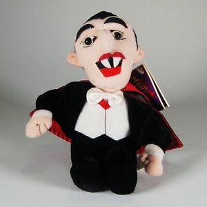 "Nanco Universal Studios Dracula Monsters Bean Bag Plush Doll w/tag 8"""
