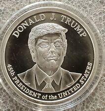 Donald Trump 2020 1 oz .999 silver 45th President commemorative MAGA KAG NEW!