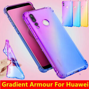 Case For Huawei P40 P30 Lite Pro Ultra Slim Shockproof TPU Silicone Hybrid Cover