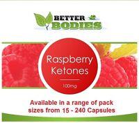 High Strength Raspberry Ketones 100mg Weight Loss Slimming Ketone Diet Capsules