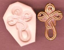 Celtic Cross Polymer Clay Push Mold 0 S/H AFTER FIRST 1