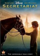 Secretariat 2010 Diane Lane Disney Family Horse Racing R4 New& DVD