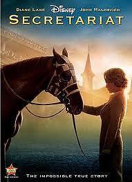 SECRETARIAT 2010 Diane Lane Disney Family Horse Racing R4 New&Sealed DVD