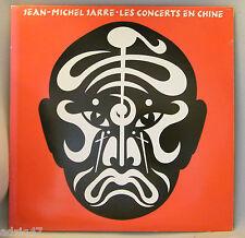 """33 T  VINYL JEAN-MICHEL JARRE """" LES CONCERTS EN CHINE """""""
