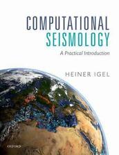 COMPUTATIONAL SEISMOLOGY - IGEL, HEINER - NEW HARDCOVER BOOK
