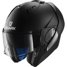 Shark He9402 Evo-one Flip Road Motorcycle Motorbike Helmet Black / Mat 61 - 62 Cm XL