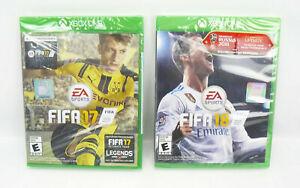 FIFA 18 & FIFA 17 Xbox One, EA Sports, Brand New, Factory Sealed, LOT Of 2-1 Ea.