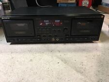 SONY HX PRO TC-WR87ES DUAL CASSETTE DECK IN EXCELLENT CONDITION TESTED WORKING
