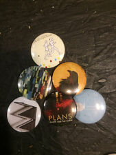 "1.25"" Death Cab For Cutie pin back button set of 6"