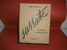 """Settimelli """"Sassate"""" – Casa Editrice Italiana, 1926"""