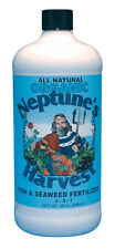 Neptune's Harvest Quart Liquid Fish & Seaweed Fertilizer-Organic-Cold Process-