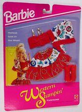 Barbie Western Stampin' Fashion Red Ensemble 10342 (NEW)