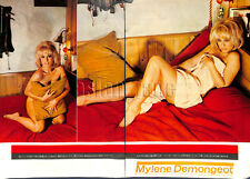 1967, Mylene Demongeot Japan Vintage Clippings 1sc2