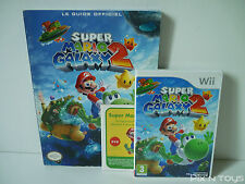 ►►►► NINTENDO Wii / Super Mario Galaxy 2 Jeu + DVD + Guide Officiel [ PAL FR ]