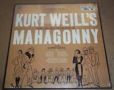 Lotte Lenya WEILL Rise and Fall of the City of Mahagonny Columbia K3L 243 SEALED