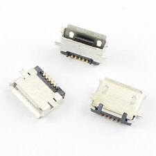 5Pcs Micro USB Type AB Female 5Pin SMT Socket Connector