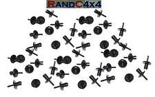 50x AFU1075 Land Rover Defender Wheel Arch Mud Spat Eyebrow Rivet Clips