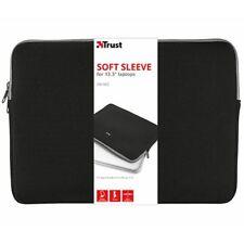 Bolsas notebook Trust el primero suave sleeve negro
